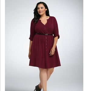 torrid Dresses - Button Front Shirt Dress